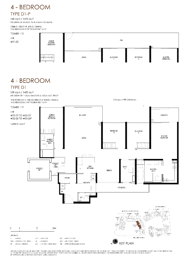 daintree residence floorplan